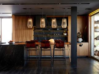 Casa El Canton Cocinas modernas: Ideas, imágenes y decoración de T + T arquitectos Moderno