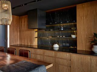 Cocinas de estilo minimalista de T + T arquitectos Minimalista