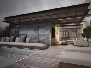 Terrasse von T + T arquitectos, Modern