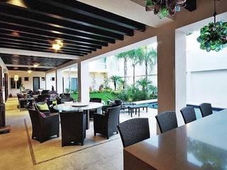 Proyecto de terraza y areas exteriores Balcones y terrazas minimalistas de Portarossa Minimalista