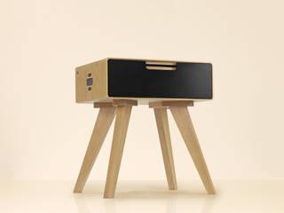Beck Smart Side Table: modern  door Practwoods, Modern