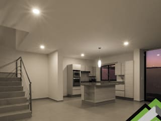 Kitchen by Planlife Edificaciones, Modern
