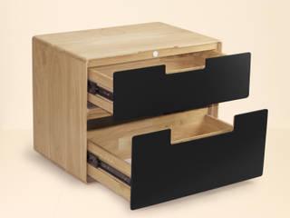 Smart Nightstand: modern  door Practwoods, Modern