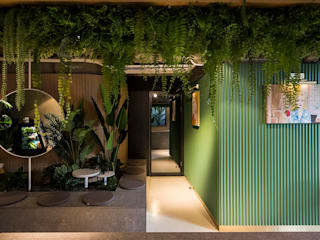 Ruang Komersial Gaya Industrial Oleh 므나 디자인 스튜디오 Industrial