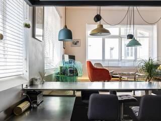 Un petit loft tout en lumière Frédéric TABARY Maisons modernes