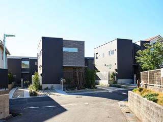 徳重の住宅 モダンな 家 の デザインルバート一級建築士事務所 モダン