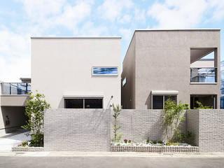 練馬区平和台の住宅 モダンな 家 の デザインルバート一級建築士事務所 モダン