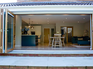Bordon wraparound extension and reconfiguration project Oleh dwell design Modern