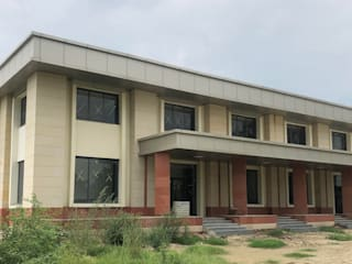 National Institute of Technology(NIT) Narela:  Bungalows by Akshayaguna Architects,