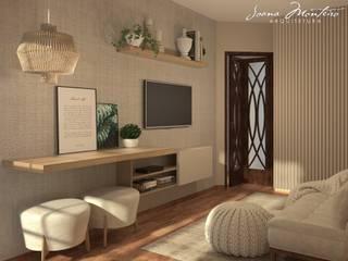 Oficinas de estilo  por Arquiteta Joana Monteiro, Moderno