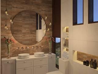 Kamar Mandi oleh Arquiteta Joana Monteiro, Modern