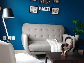 Interiorismo Fiby Salones modernos de TRASSO ATELIER Moderno