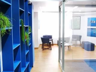 Proyecto OC Pasillos, vestíbulos y escaleras mediterráneos de Urbyarch Arquitectura / Diseño Mediterráneo