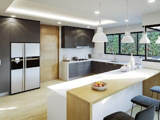 Urbyarch Arquitectura / Diseño Kitchen