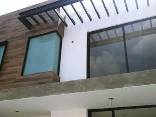 CASA AGUA GRANDE. Puertas y ventanas modernas de JAI DISEÑO Y CONSTRUCCIÓN EN ALUMINIO Y VIDRIO Moderno