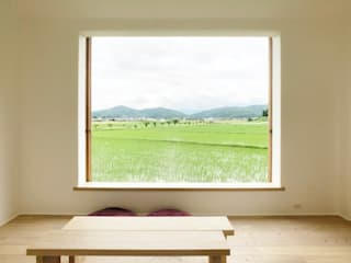 Mimasis Design/ミメイシス デザイン Wooden windows لکڑی Wood effect