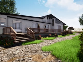 Country house by CR.3D Modeling & Rendering, Country