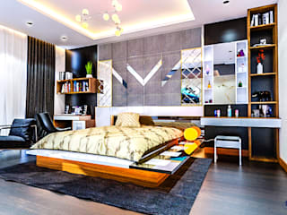 BEDROOM by GALAXY DECOR Modern
