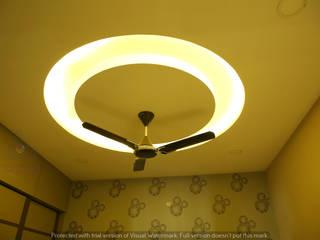 Aparna Cyberlife Modern style bedroom by Meticular Interiors LLP Modern