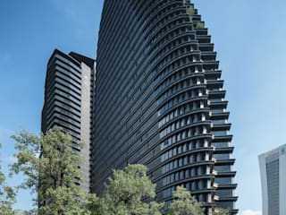 National Trade Center Classic style study/office by Architecture by Aedas Classic