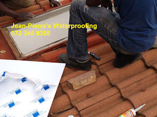 Skylight repairs replacement perspex safety glass polycarbonate sheets by Jean-Pierre's Waterproofing