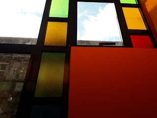 Ventanal Vertical Casas minimalistas de VETROLUX ABERTURAS Minimalista