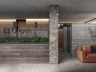 El Origen 75; Loft, Viñedo & Cava Hoteles de estilo minimalista de HC Arquitecto Minimalista