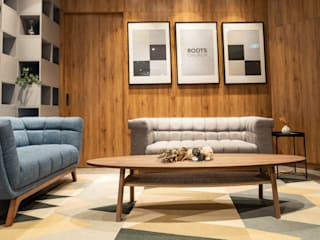 鈊楹室內裝修設計股份有限公司 Kantor & Toko Gaya Asia Country