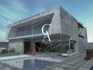 Muri Di Calcestruzzo. de CADICZA | Arquitectos Minimalista