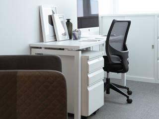 童‧樂 ─ 混搭風辦公室 鈊楹室內裝修設計股份有限公司 辦公室&店面 White