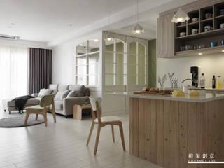 橙果創意國際設計 Esszimmer im Landhausstil