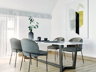 The Private House In Balaton Village:  Dining room by ARCHEVISTA DESIGN,Minimalist