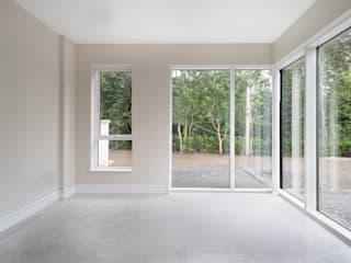 Large Contemporary Glazing Project Marvin Windows and Doors UK Windows & doors Windows Aluminium/Seng White