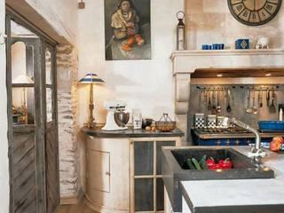 Double cuisine de la rue préfet bonnefoy: Cuisine intégrée de style  par Frédéric TABARY,