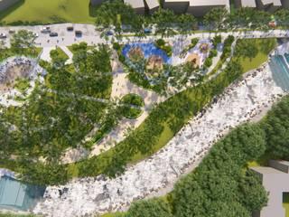 Ejes Ambientales para la Ciudad de Mocoa (Putumayo) Folia - Arquitectura y Diseño del Paisaje Jardines de estilo clásico