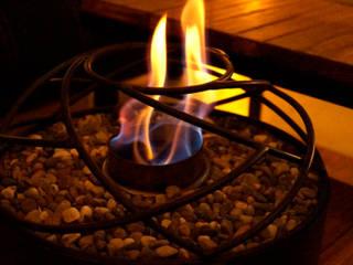 Chimeneas Aranza HouseholdAccessories & decoration Iron/Steel Brown