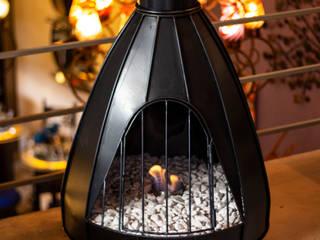 Chimeneas Aranza HouseholdAccessories & decoration Metal Black