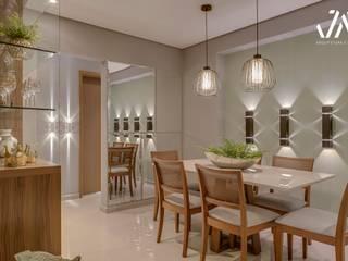 Apartamento em Santos. : Edifícios comerciais  por JM Arquitetura e Design,Moderno