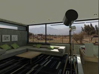 ห้องนั่งเล่น โดย Vetas Sur, โมเดิร์น
