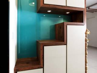 Pasillos y vestíbulos de estilo  por U and I Designs, Moderno