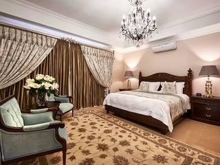 Schlafzimmer von Da Rocha Interiors, Mediterran