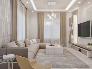 Modern living room by De Panache - Interior Architects Modern