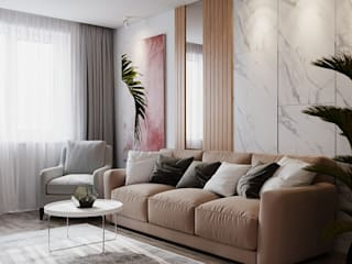 Minimalist living room by ЕвроДом Minimalist