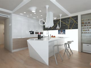 Kitchen by Ник и Христина Рахат Rahat-House Design, Eclectic