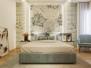 Mysore Sankalp Central Park:  Bedroom by De Panache ,Modern