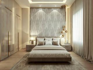Prestige Falcon City:  Bedroom by De Panache ,Modern