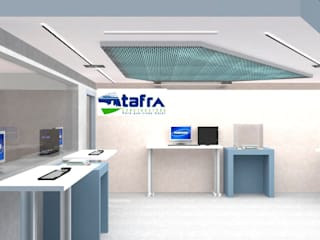 CONSTRUCTORA TAFRA, S. A. DE C. V. Techos planos Metal Turquesa