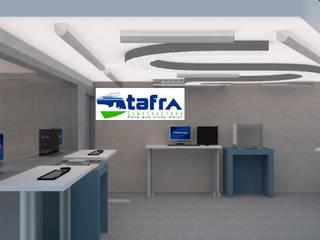 Serpentinata de CONSTRUCTORA TAFRA, S. A. DE C. V. Moderno Metal