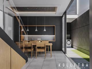 Salle à manger de style  par Kolletra Visual Studio,