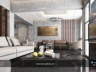 Salon moderne par Mockup studio Moderne